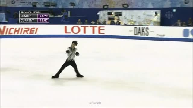 Watch and share 2014 Nhk Trophy GIFs and Figure Skating GIFs by Irina Niculiu on Gfycat