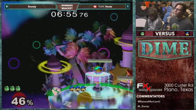 TourneyLocator Playing Super Smash Bros. Melee - Twitch Clips