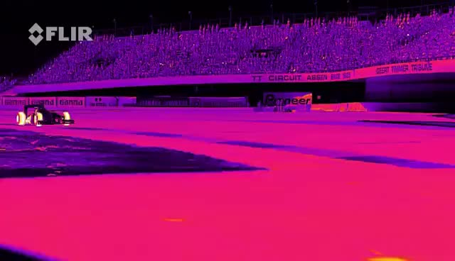 Watch Red Bull Racing's RB8 Tearing it Up in Infrared GIF on Gfycat. Discover more related GIFs on Gfycat