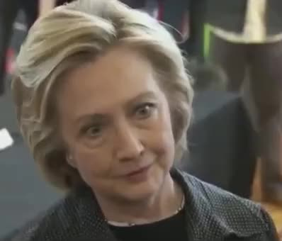 Watch and share Hillary Clinton GIFs and Head Nod GIFs by Reactions on Gfycat