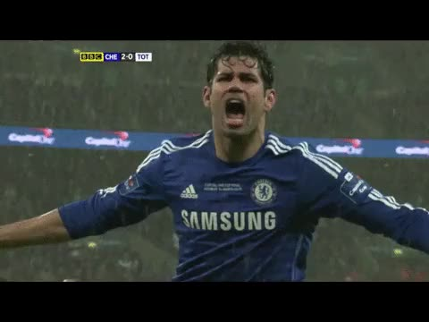 Watch and share Diego Costa Celebration GIFs on Gfycat