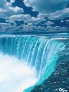 Watch and share Moving Picture Niagara Fall Waterfall Animated GIFs on Gfycat