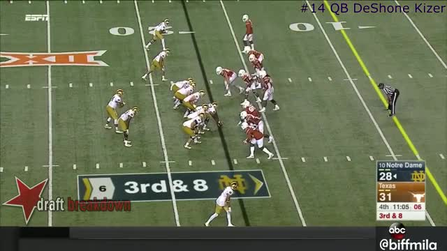 Watch and share DeShone Kizer (Notre Dame) Vs. Texas (2016) GIFs by jonah7073 on Gfycat
