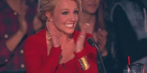 Watch and share Britney Is Excited! GIFs by Reactions on Gfycat