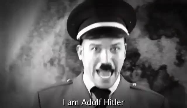 Watch I AM ADOLF HITLER!!! GIF on Gfycat. Discover more related GIFs on Gfycat