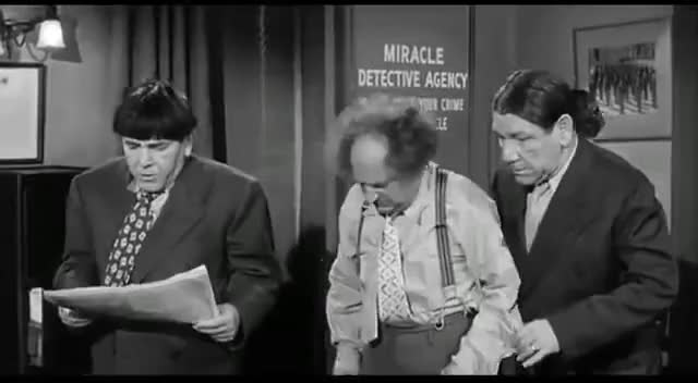 Watch and share Moe Howard GIFs on Gfycat