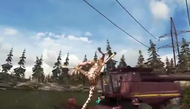 Watch Goat Simulator Official Mobile Trailer GIF on Gfycat. Discover more related GIFs on Gfycat