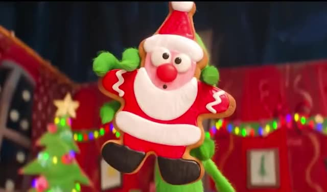 THE GRINCH yummy xmas up tree the tada show santa pissed mad holidays hiding hide grinch decoration cookie claus christmas behind annoyed trending curated GIF