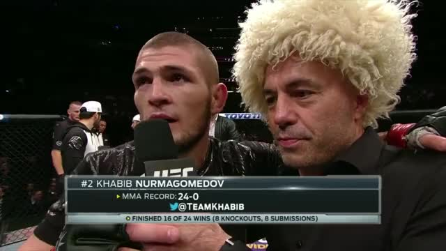 Watch and share Interview GIFs and Octagon GIFs on Gfycat