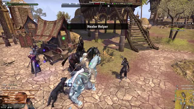 Watch and share Elder Scrolls Online 4 25 2018 12 28 07 PM GIFs on Gfycat