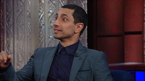 riz ahmed, in labour GIFs