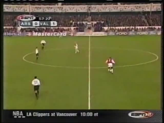Watch and share 2001 (April 4) Arsenal (England) 2-Valencia (Spain) 1 (Champions League) GIFs on Gfycat