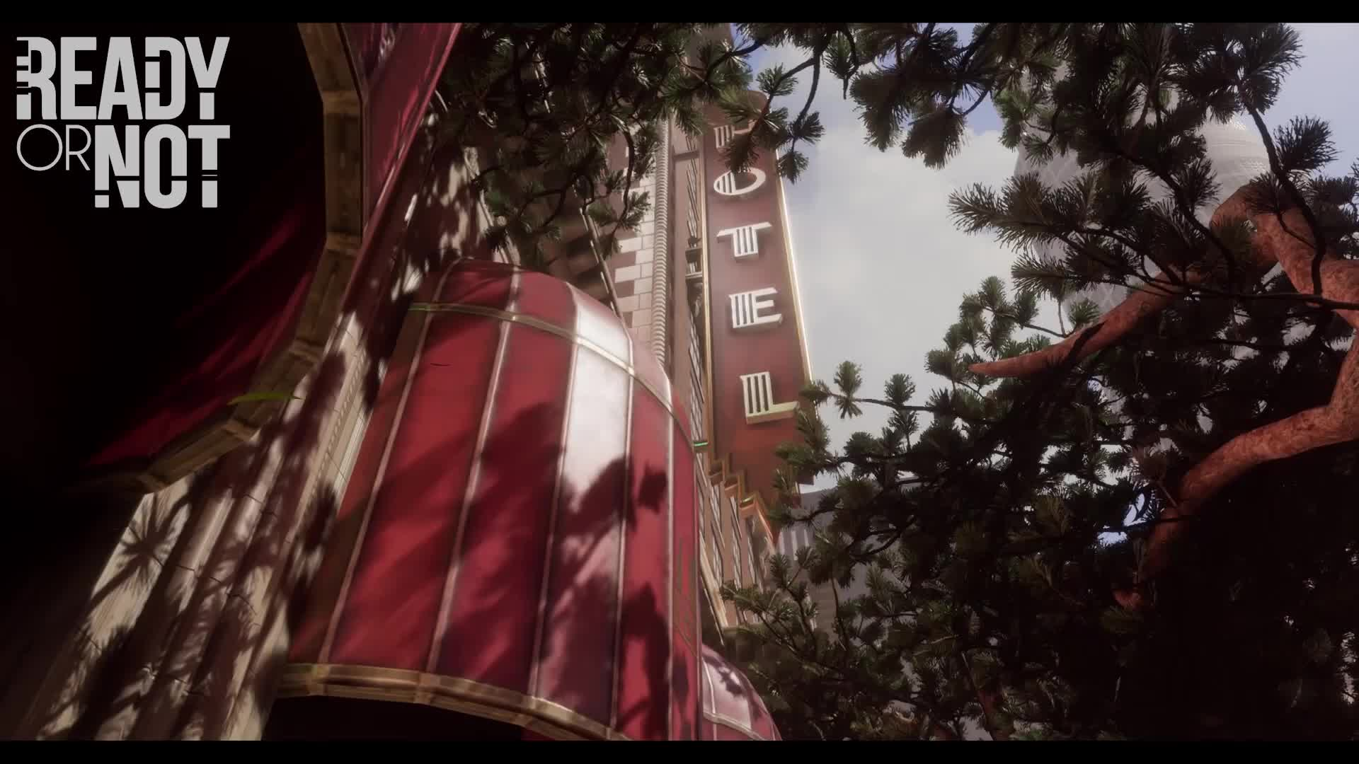 fbi, game, police, swat, video, videogame, Ready or Not trailer gameplay hotel GIFs