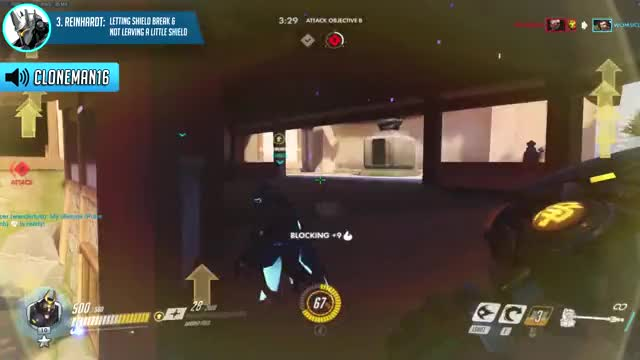 1 COMMON MISTAKE for every TANK HERO in Overwatch ft. Emongg & Cloneman16