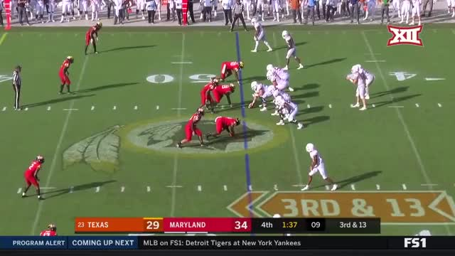 Watch Texas Offense vs Maryland 2018 GIF on Gfycat. Discover more Football, Longhorns, Texas GIFs on Gfycat