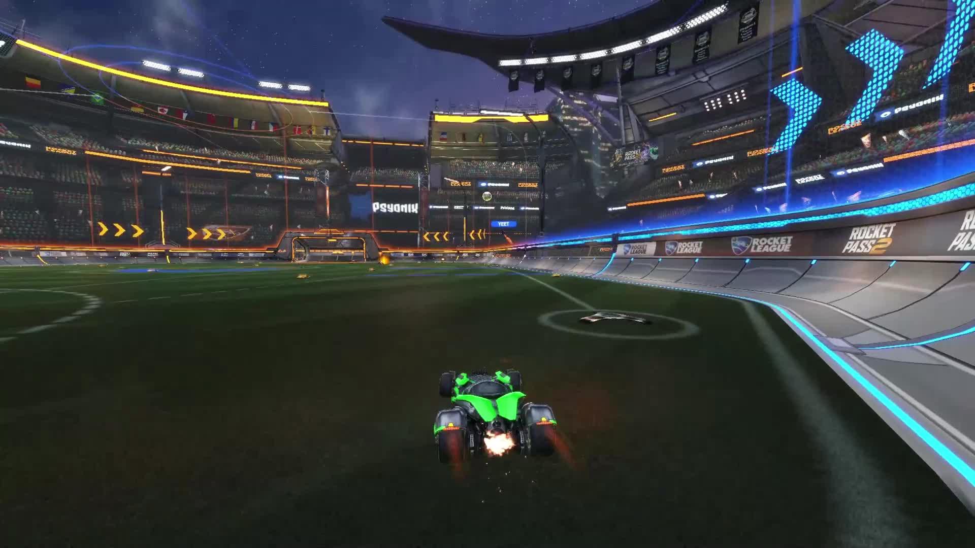 RocketLeague, sick redirect GIFs
