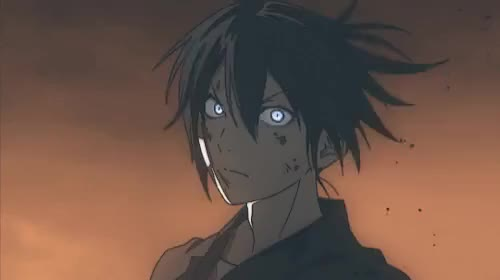 Watch this trending GIF on Gfycat. Discover more Noragami, Yato, anime, animegif, animegifs, badass, itsygo GIFs on Gfycat