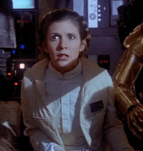 Watch this princess leia GIF on Gfycat. Discover more princess leia GIFs on Gfycat