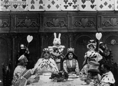 Watch and share Alice's Adventures In Wonderland (1910) Frames Supplied By The Thomas Edison National Historic Park GIFs on Gfycat