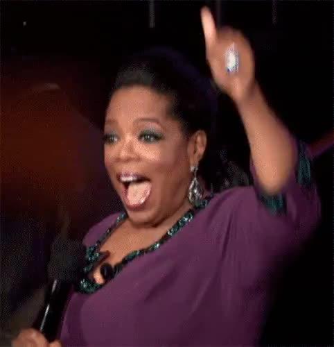 Watch and share Oprah Winfrey GIFs and Celebrate GIFs by cysou31 on Gfycat