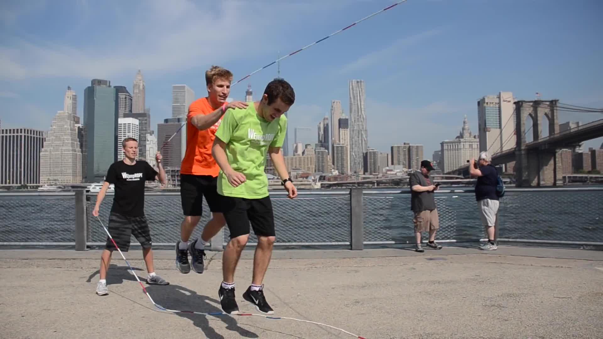 #athletic, #breakdance, #crossfit, #dance, #jump, #jumprope, #newyork, #newyorkcity, #rope, #wejumprope, New York City Jump Rope GIFs