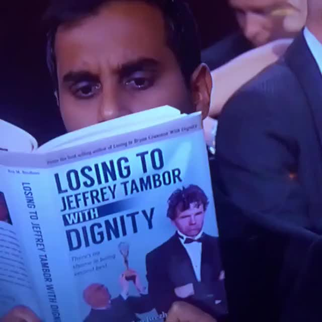 Watch Aziz Book Club GIF on Gfycat. Discover more azizansari, funny, goldenglobes GIFs on Gfycat