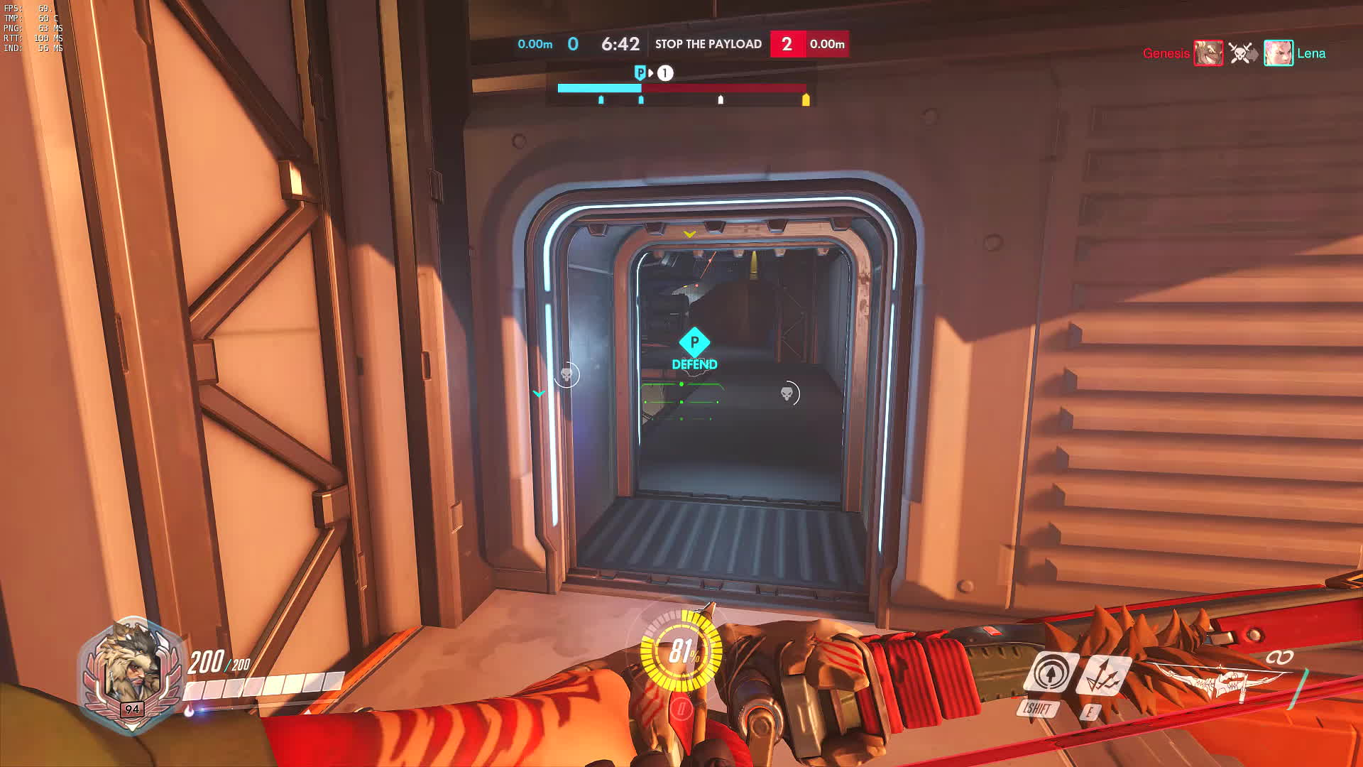 overwatch, Hanzo Clearing the Point... Again. GIFs