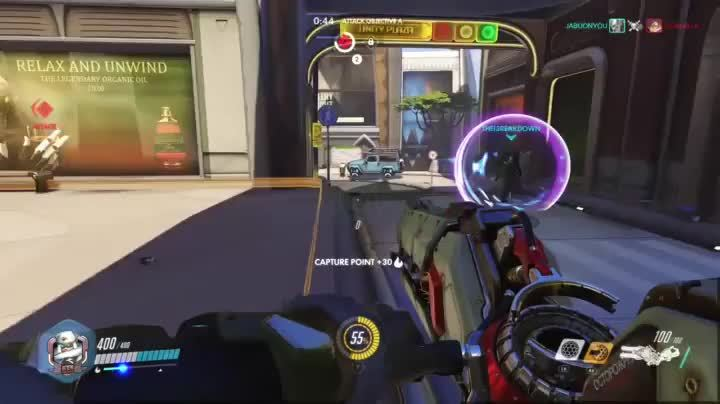 imagesofrussia, overwatch, Zarya rolls over tires GIFs