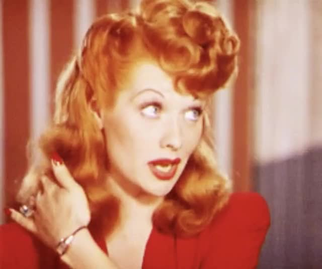 Watch this trending GIF by The GIF Forge (@leahstark) on Gfycat. Discover more i love lucy, lucille ball, redhead GIFs on Gfycat