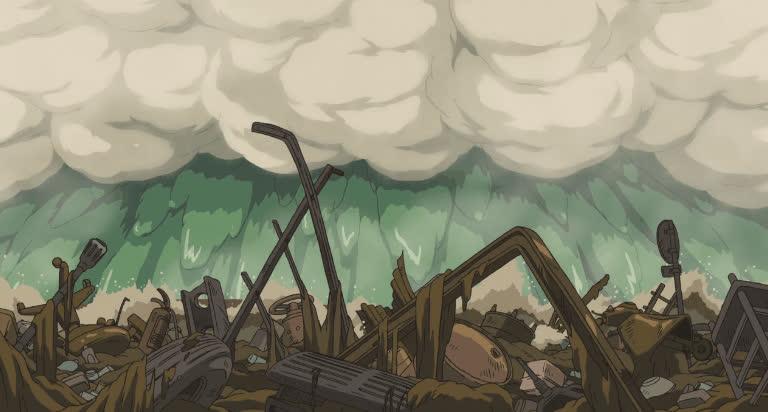 flood, ghibli, miyazaki, river, spirited away, water, Rush GIFs