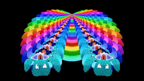 Watch and share Artists On Tumblr GIFs and Psychedelic GIFs on Gfycat