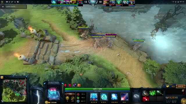 Watch and share Storm Spirit GIFs and Triple Kill GIFs on Gfycat