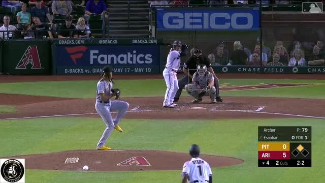 Watch and share Eduardo Escobar GIFs and Chris Archer GIFs by Pitcher Giffer on Gfycat