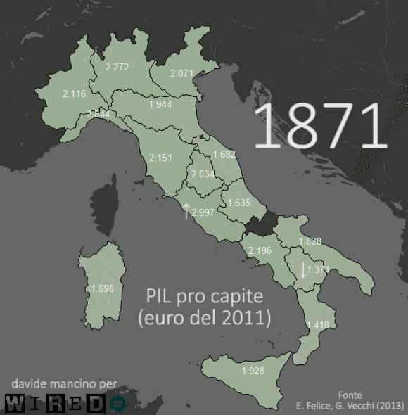 Watch Il PIL pro capite degli italiani, dall'unità d'Italia in poi GIF by @par on Gfycat. Discover more history GIFs on Gfycat