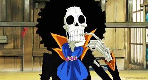 Watch and share Brook (One Piece) GIFs on Gfycat