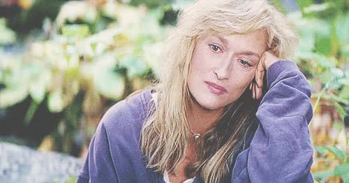 Watch and share Meryl Streep GIFs and Celebrities GIFs on Gfycat