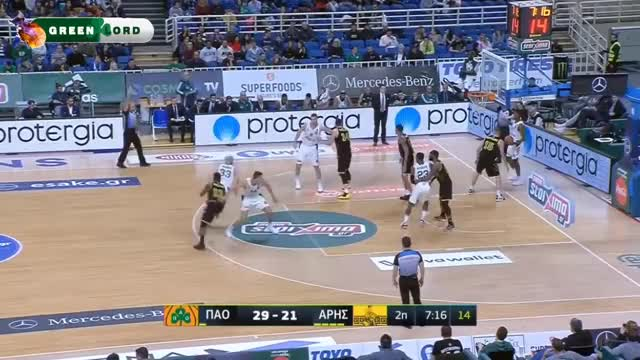Watch Παναθηναϊκός - Άρης 85-65 | Στιγμιότυπα - 15η Αγωνιστική Basket League (28/1/2019) GIF on Gfycat. Discover more Highlights, basket, basketball GIFs on Gfycat
