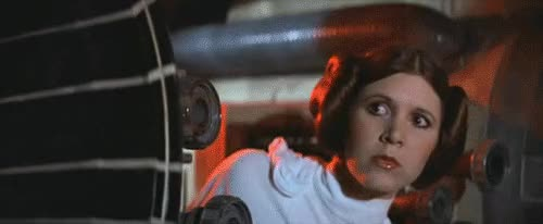 Watch this princess leia GIF on Gfycat. Discover more carrie fisher, princess leia GIFs on Gfycat