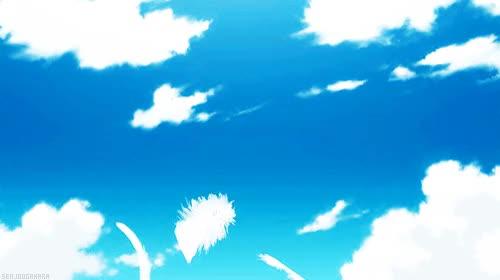Watch and share Anime Sky Scenery Nisemonogatari Bakemonogatari Anime Gif Sengif Nsgif GIFs on Gfycat
