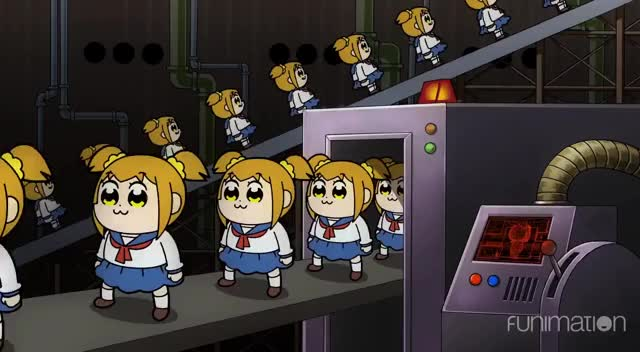 Watch and share Pop Team Epic GIFs and Funimation GIFs on Gfycat