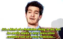 Watch feminism GIF on Gfycat. Discover more andrew garfield GIFs on Gfycat