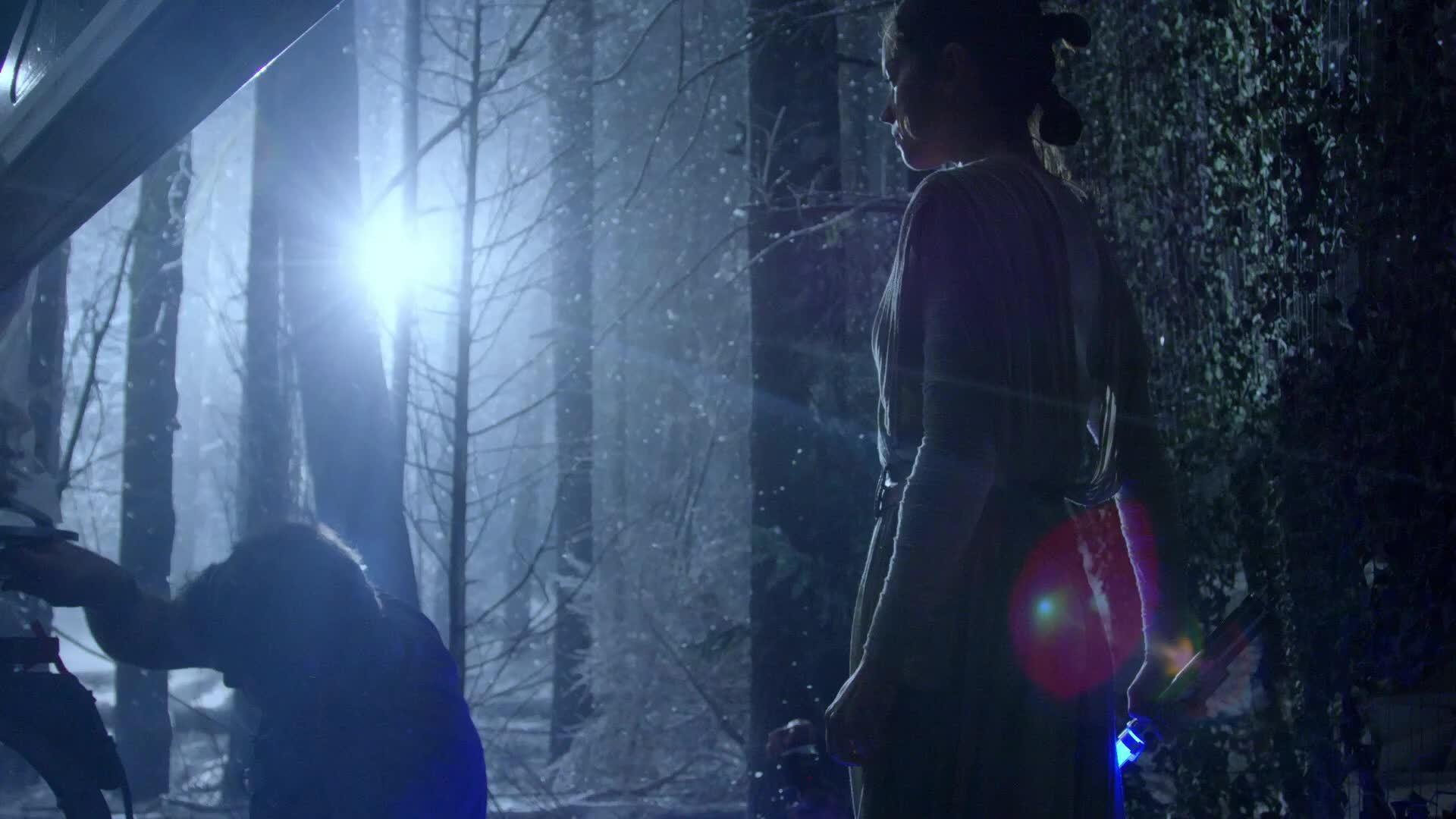 behind the scenes, star wars, starwars, Snow Fight BTS Shots GIFs