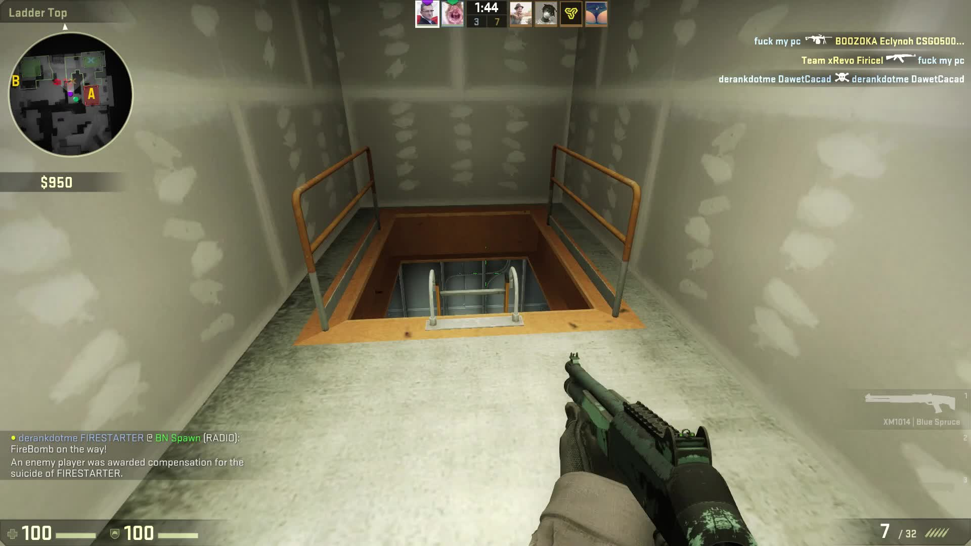 counterstrike, globaloffensive, peoplebeingjerks, Ultimate Dick Move GIFs