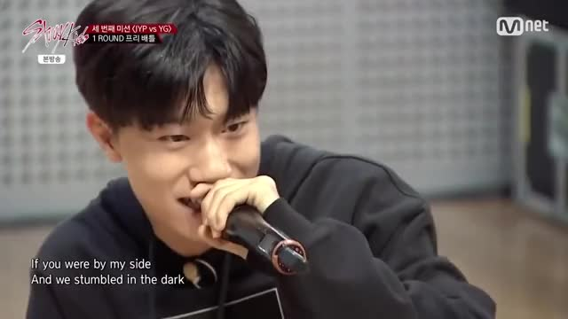 Watch and share 방예담 - 'There's Nothing Holdin' Me Back' ('Stray Kids' YG Vs JYP 프리 배틀) GIFs by Koreaboo on Gfycat