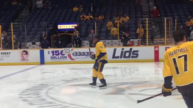 Watch PK skating in place GIF by @grapefruit222 on Gfycat. Discover more Nashville, PK Subban, Preds, hockey GIFs on Gfycat