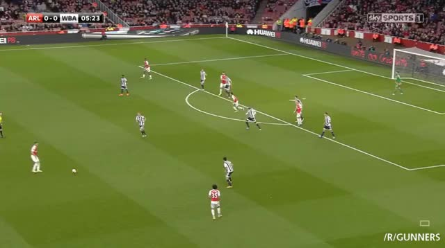 Watch Sanchez's goal vs. West Brom (reddit) GIF on Gfycat. Discover more gunners GIFs on Gfycat