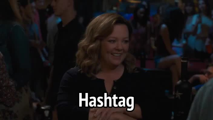 #, hashtag, life of the party, melissa mccarthy, Life of the Party - Melissa Mccarthy - Hashtag GIFs