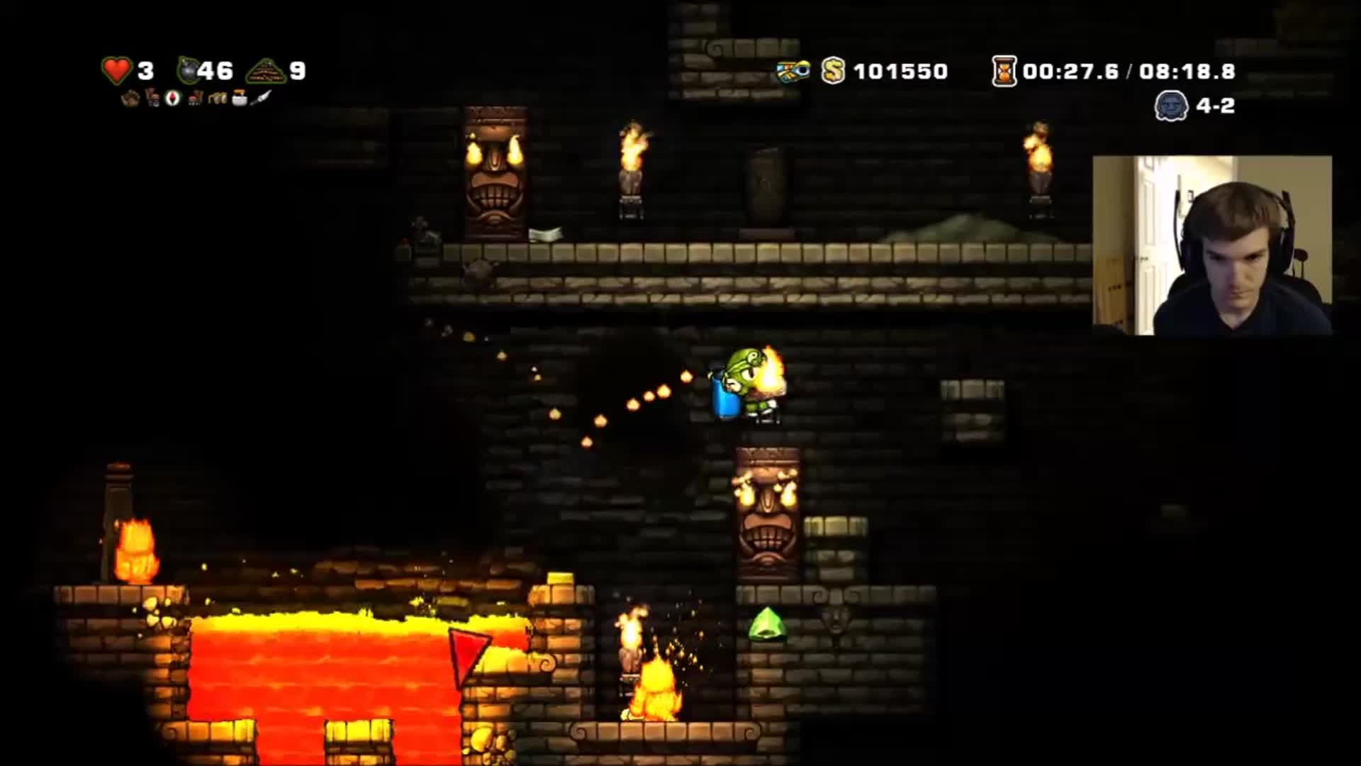 spelunky, Get Dunked On! GIFs