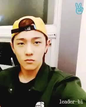 Watch Pouty Donghyuk  GIF on Gfycat. Discover more donghyuk, ikon, kim donghyuk, precious angel GIFs on Gfycat
