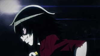 anime, anime gif, anime+gif, badgif, watamote, Electric Princess GIFs